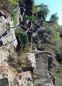 Klettersteig zur Rabenlay