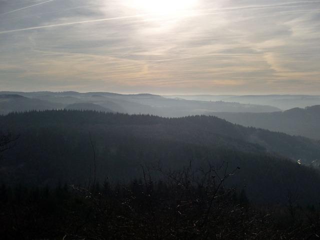 Blick Richtung Eifel