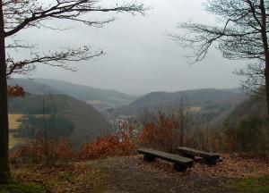 Aussicht oberhalb der Kapelle