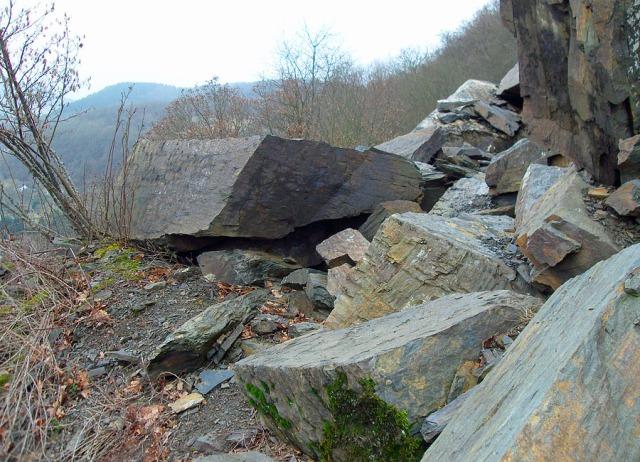 der Felsbruch