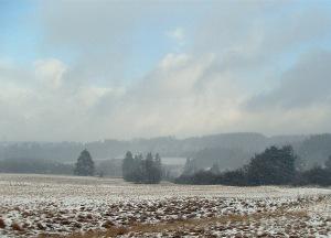 Mehr Schnee in der Eifel