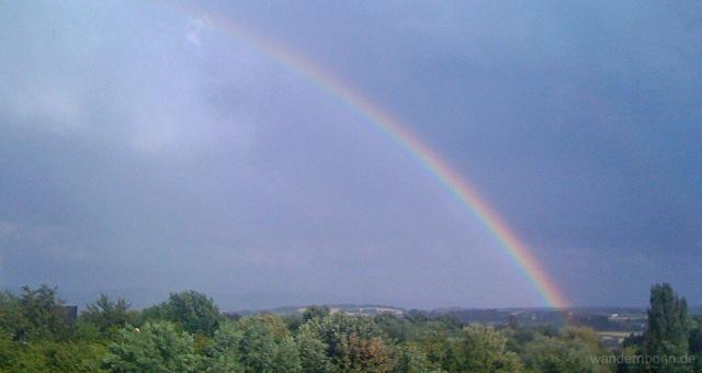 Regenbogen - 6.7.2011 - 19:17 Uhr