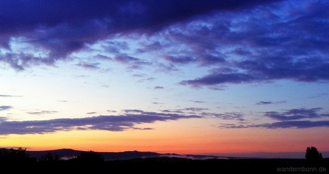Sonnenaufgang - 30.08.2011 - 6:24