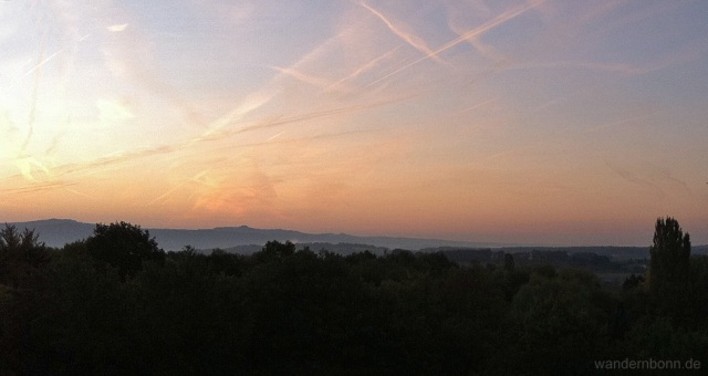 Sonnenaufgang - 24.09.2011 - 7:17 Uhr