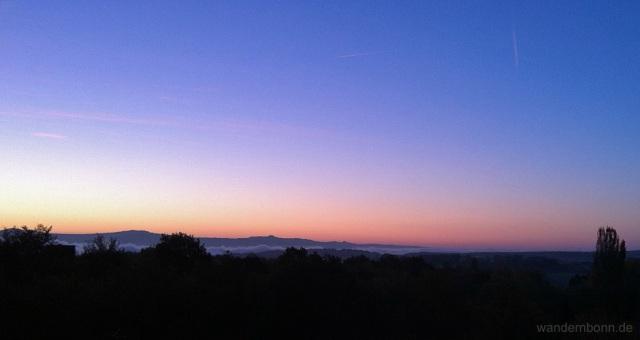 Sonnenaufgang - 14.10.2011 - 7:30 Uhr