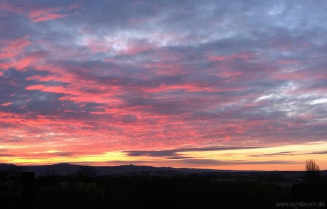 Sonnenaufgang - 21.02.2012 - 7:27 Uhr