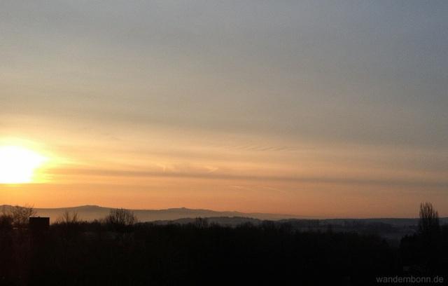 Sonnenaufgang - 7.3.2012 - 7:34 Uhr