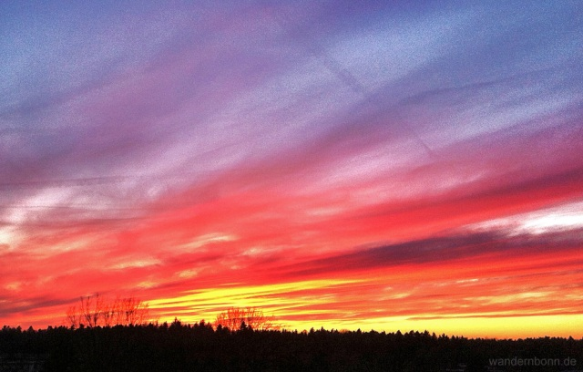 Sonnenuntergang - 27.01.2012 - 17:25 Uhr