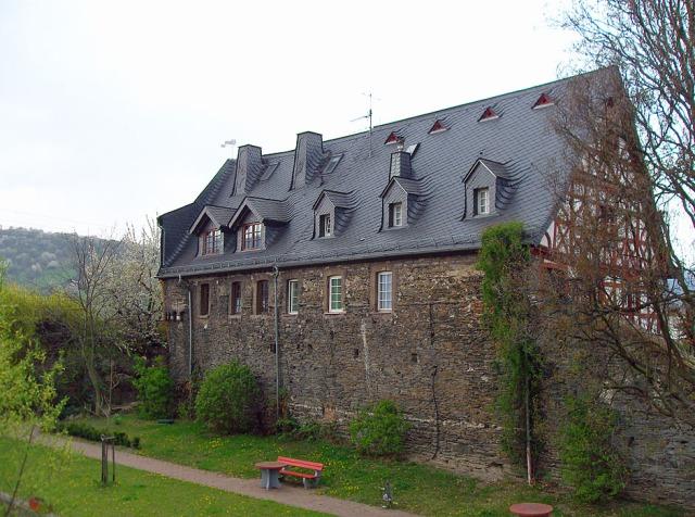 Lorch - das Leprosenhaus an der alten Stadtbefestigung