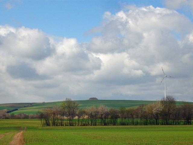 Windkraftanlage in Schön ;-)