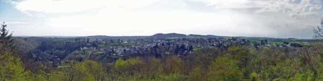 Ausblick vom Belvedere