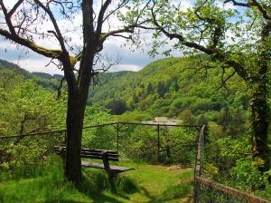 Ausblick ins Üßbachtal