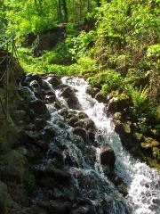 Wasserfall an der Elfengrotte