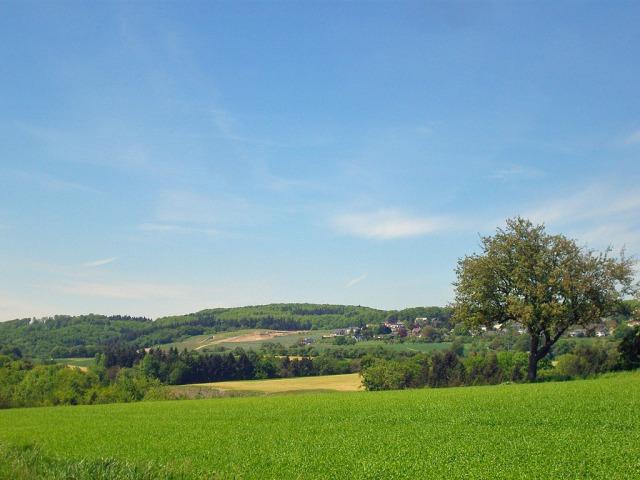 Aussicht vom Westerwalder Balkon