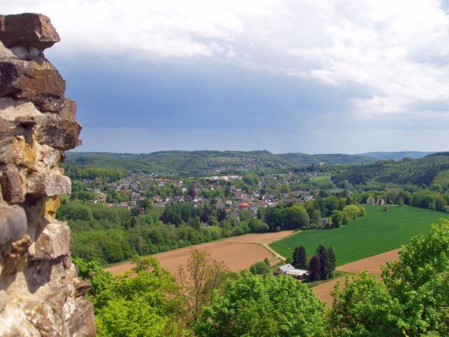Blick von Burg Windeck