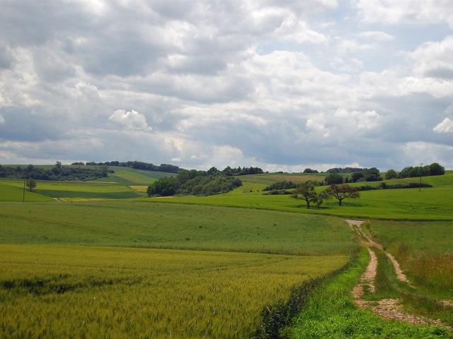 Jeder Blickwinkel offenbart eine andere Linienführung der Landschaft - Herrlich!