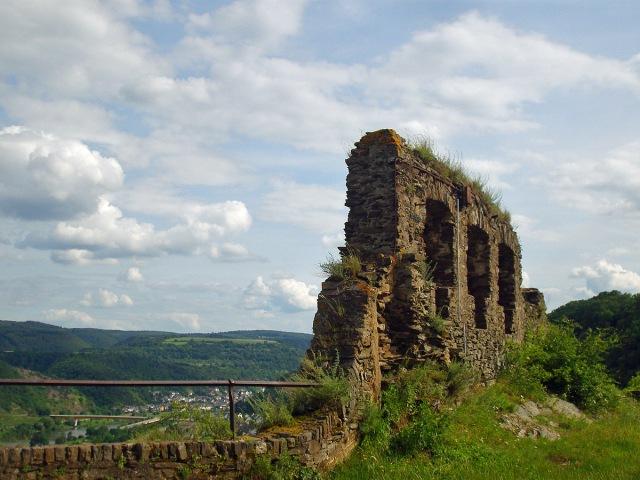 an der Ruine der Niederburg