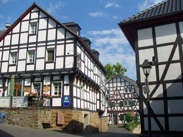 Blankenberg - die Altstadt