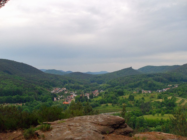 Blick vom Nesselberg