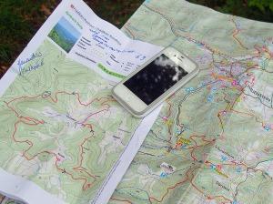 Ausdruck, Track & Karte erleichtern die Orientierung