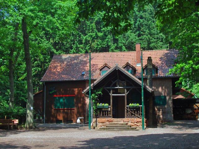 die Landauer Hütte - ein idyllisches Fleckchen