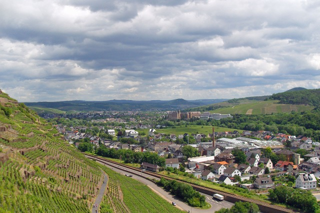 Blick auf Bad Neuenahr-Ahrweiler