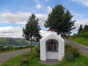 Kapelle in den Weinbergen bei Lorch