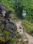 Der Mikro-Klettersteig