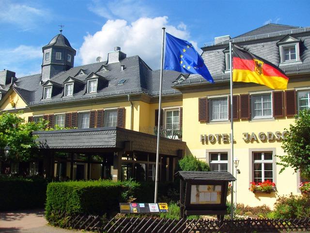 das Hotel Jagdschloss lädt zur Einkehr ein