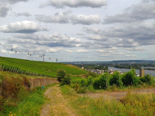 Richtung Rüdesheim