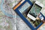 Wanderkarte und GPS