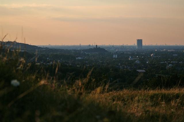Blick auf Bonn und Köln