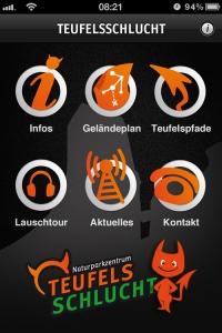 Teufelsschlucht_App