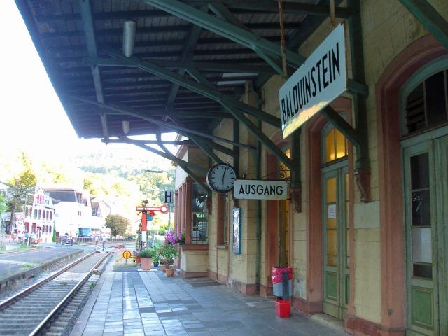 der Bahnhof in Balduinstein