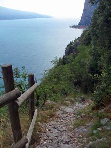 der Aufstieg nach Pieve di Tremosine