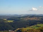 Blick auf Windpark Weibern und Heidbüchel