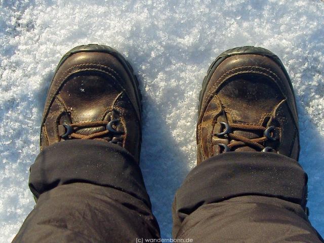 Februar 2012 - Bei Schnee im Hohen Venn unterwegs