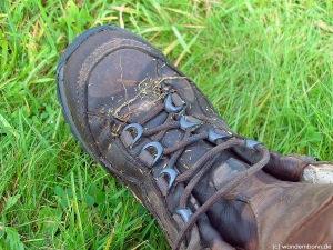 ohne Pflege gibt es nasse Füße