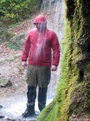 Axel macht den Regentest