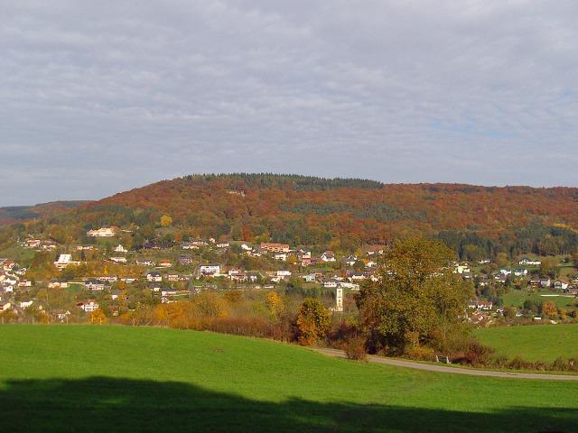 Blick von der Luxemburgischen Seite auf Bollendorf