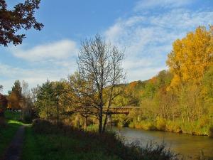 An der Sauer - die Alfred-Töpfer-Brücke