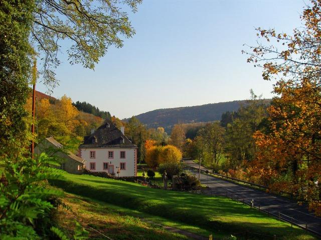 kurz vor Schloss Weilerbach
