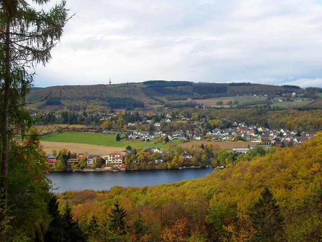 Obermaubach und der Stausee