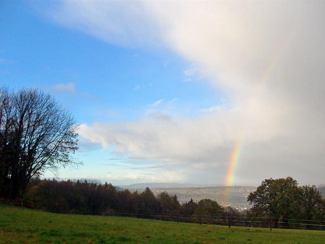Regenbogen zum Abschluss