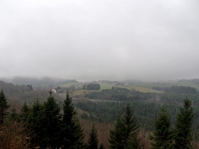 Nebel über der Rhön
