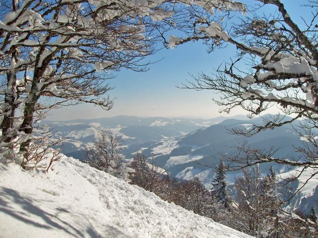 Ausblick auf dem Trail
