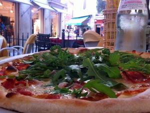 Pizza in Malcesine