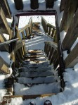 Treppe hinab