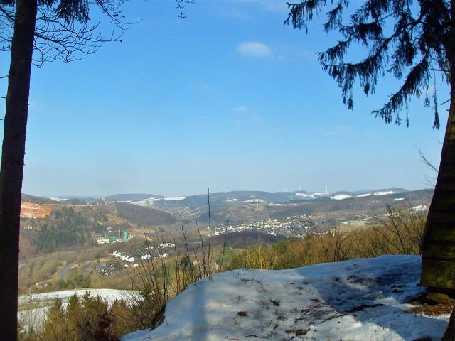 Blick auf die Kasselburg