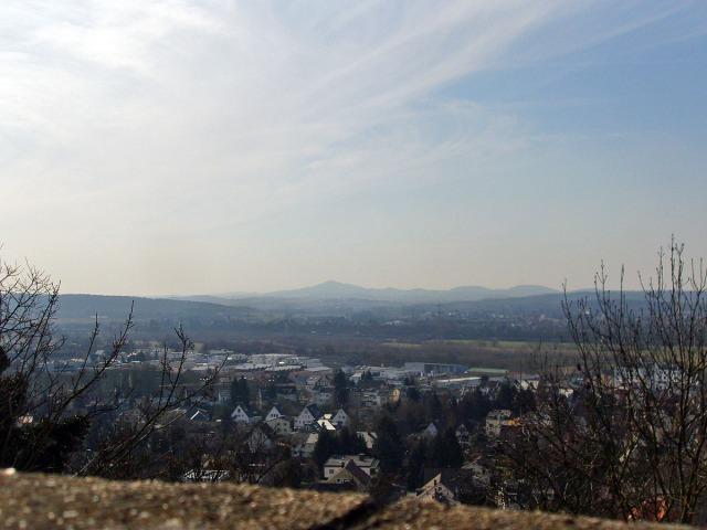 Das Siebengebirge im Blick